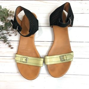 Marc By Marc Jacobs 2 Tone Flat Sandals Size 40